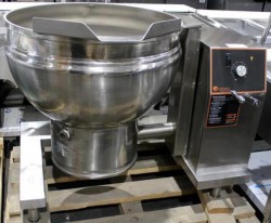 2018 Groen DEES/4-4 40 Gallon Electric Manual Tilt Kettle Never Used, Tested Good