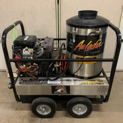 Aaladin 41-530B 5GPM@3000PSI Hot Pressure Washer Used, Tested Good