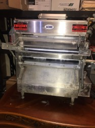 Acme MRS11-R 18″ Dough Roller Sheeter Used, Tested Good