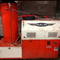 Alkota 3241NG 3GPM @ 2400PSI Hot Pressure Washer Used, Tested Good