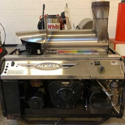 Alkota 5GPM @ 3000PSI Hot Pressure Washer Skid Used, Tested Good