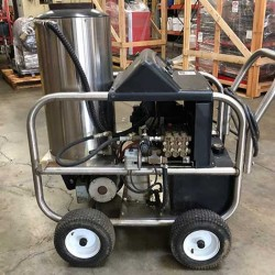 Alkota 420X4X 4GPM @ 2000PSI Hot Pressure Washer Used, Tested Good