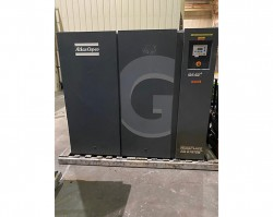 Atlas Copco 60 HP Rotary Screw Air Compressor & Dryer Used, Tested Good