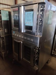 Blodgett 2-Speed Double Gas Convection Oven on Casters Used, Tested Good