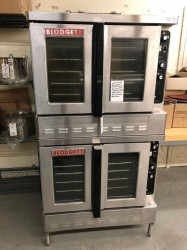 Blodgett DFG-100 Double Gas Convection Oven Used, Tested Good