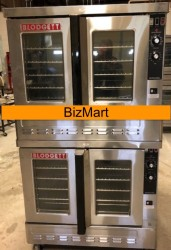 Blodgett Zephaire Bakery Depth Double Gas Convection Oven Used, Tested Good
