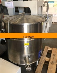 Clevelnad 30 Gallon Gas Jacketed Steam Kettle Used, Tested Good