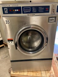 Dexter 3PH Triple Load Coin Laundry Washer Used, Tested Good