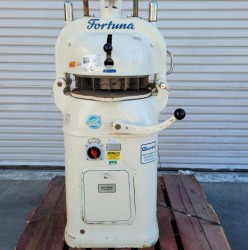 Fortuna Semi Automatic 4-36 36 Part Dough Divider Rounder Used, Tested Good