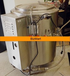 Groen 20 Gallon Gas Jacketed Steam Kettle Used, Tested Good
