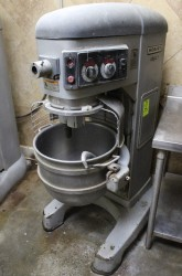 Hobart Legacy 60 Quart Mixer w/ Bowl, Guard, Hook Parts or Non Working
