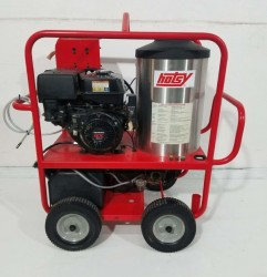Hotsy 1075SSE 4GPM@3500PSI Hot Pressure Washer Used, Tested Good
