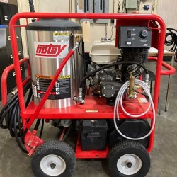 Hotsy 1065SSE 3.5GPM@3000PSI Hot Pressure Washer Used, Tested Good