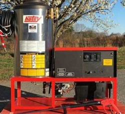 Hotsy 991SS Propane 4GPM @ 2000PSI Hot Pressure Washer Used, Tested Good