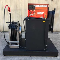 Hotsy HWE 4GPM @ 3000PSI Cold Water Pressure Washer On Skid Used, Tested Good