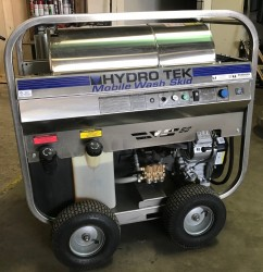 Hydro Tek 3.5GPM @ 4000PSI Hot Pressure Washer 170 Hours Used, Tested Good