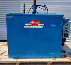 KleenTec Kleer-Flo Gas Heated Agitating Parts Washer Used, Tested Good