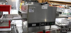 Lincoln 2501 CTI Single Phase Electric Pizza Conveyor Oven Used, Tested Good