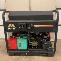 Mi-T-M 5.6GPM @ 3500PSI Hot Pressure Washer Skid w/Generator Used, Tested Good