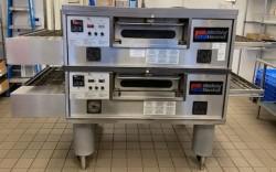 Middleby Marshall PS555 Electric Double Conveyor Pizza Oven Used, Tested Good