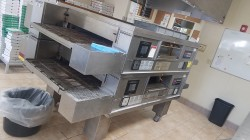 Middleby Marshall PS770G WOW Double Conveyor Pizza Oven Used, Tested Good