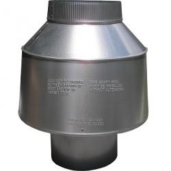 New Galvanized 12″ Vertical Draft Diverter Never Used, Not Tested