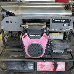 Pressure Pro 5GPM @ 3500PSI Hot Pressure Washer Skid Used, Tested Good
