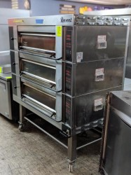 Revent 649 Triple Stack Deck Oven Used, Tested Good