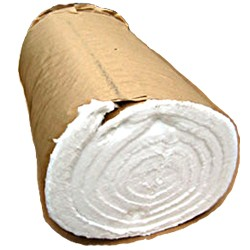 """New Roll  24"""" x  25' x 1"""" Heater Coil Insulation Wrap Never Used, Tested Good"""