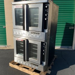Blodgett 2-Speed Double Gas Convection Oven Used, Tested Good