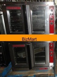 Blodgett 2-Speed Double Electric Convection Oven Used, Tested Good