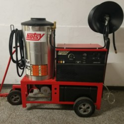 Hotsy 1410SS Electric / Diesel 3000PSI Hot Pressure Washer Used, Tested Good