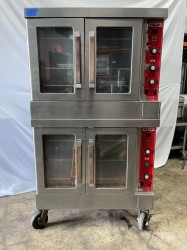 Vulcan SG4D Double Gas Convection Oven Used, Tested Good