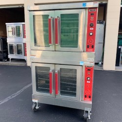 Vulcan SG4D Stainlesss Double Gas Convection Oven Used, Tested Good