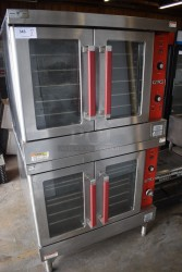 Vulcan VC4GD Double Gas Convection Oven Used, Tested Good